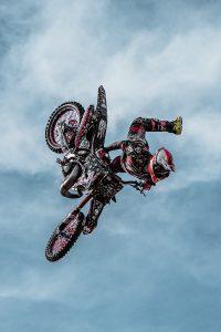 Motorbike jump