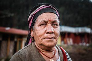 Retrato Mujer India