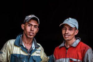 Retrato Mecanicos Marruecos