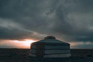 Tienda nomada mongolia