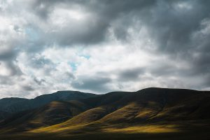 Luz Montaña Mongolia