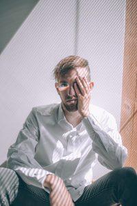 Retrato Persona Arcoiris Ojo